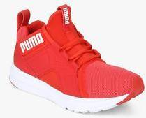 7bd4566d9713e1 Puma Enzo Mesh Wn s Red Running Shoes for women - Get stylish shoes ...