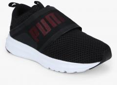 64727b963da Puma Enzo Strap Mesh Wn s Black Sneakers for women - Get stylish shoes for  Every Women Online in India 2019
