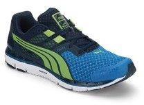 Puma Faas 500 V3 Blue Running Shoes for Men online in India at Best ... 764b54646
