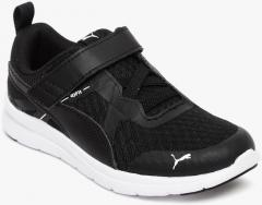 c2db9b42927 Puma Flex Essential V PS Black Sneakers for Boys in India May