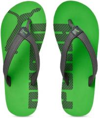 7ba100d37d7 Puma Grey   Green Printed Thong Flip Flops for girls in India - Buy at  Lowest price March