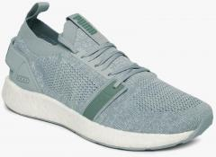 f52d02aaef1f Puma Grey NRGY Neko Engineer Knit SOFTFOAM+ Running Shoes for women - Get  stylish shoes for Every Women Online in India 2019