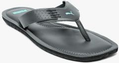 b0772ea8ddc Puma Grey Solid Caper NU IDP Thong Flip Flops for Men online in India at  Best price on 22nd March 2019