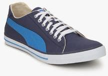 b484e8a4a9b ... Puma Hip Hop 4 Ind. Navy Blue Sneakers men ...
