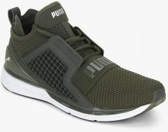 Puma Ignite Limitless Weave Olive Sneakers for women - Get stylish ... 1062efeb8