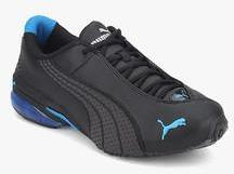 552da9720891a2 Puma Jago Ripstop DP BLACK RUNNING SHOES for Men online in India at ...