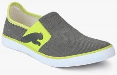 871becbc0d6b Puma Lazy Slip On Ii Dp Castor Gray Limepunch Grey Sneakers for ...