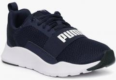 e764c742b690 Puma Navy Blue Wired Jr Sneakers for Boys in India March