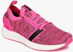 Puma Pink NRGY Neko Engineer Knit Running Shoes for women - Get ... 299882bb6