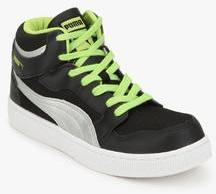 905b1687d980 Puma Rebound Mid Lite Dp Black Sneakers for Men online in India at Best  price on 27th March 2019