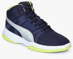 71f0d361cf8720 Puma Rebound Street Evo Idp Peacoat Puma Navy Blue for women - Get stylish  shoes for Every Women Online in India 2019