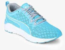 Puma Rush Aqua Blue Training Shoes for women - Get stylish shoes for Every  Women Online in India 2019  e7f731192