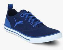 clients first good service pretty cheap Puma Slyde Dp Navy Blue Sneakers men