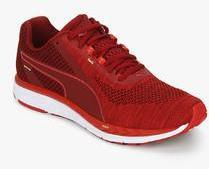 magasin en ligne 6eaa9 23b95 Puma Speed 500 Ignite 3 Red Running Shoes men