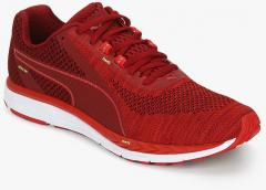 11bc90e7953 Puma Speed 500 Ignite 3 Red Running Shoes for women - Get stylish shoes for  Every Women Online in India 2019