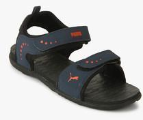98882b1a0026fa Puma Stablel Idp Navy Blue Floaters for Men online in India at Best ...