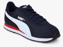 225d8a045e98 Puma Turin Nl Peacoat Puma White Navy Blue for Men online in India ...