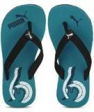 Puma Wave Jr Blue Flip Flops Girls