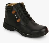 Red Chief Black Derby Boots For Men Online In India At Best Price On