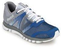Reebok Sublite Duo Lx Grey Running Shoes men