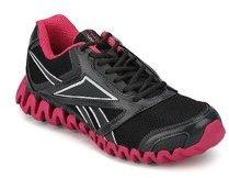 b6ff3ac3e32 Reebok Zignano Race Lp Black Running Shoes for women - Get stylish ...