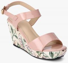 4157224633c0 Shoe Couture Pink Wedges for women - Get stylish shoes for Every Women  Online in India 2019