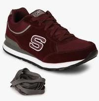 5105a008e83f Skechers Og 82 Maroon Sneakers for Men online in India at Best price on  20th April 2019