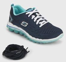 7e259df0 Skechers Skech Air 2.0 Navy Blue Running Shoes for women - Get ...