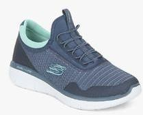 326b947852cb Skechers Synergy 2.0 Mirror Image Navy Blue Training Sneakers for ...