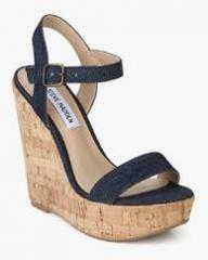 Steve Madden Ellina Navy Blue Wedges for women - Get stylish shoes for  Every Women Online in India 2019  79b74f104f