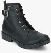 f7af2a11883 Steve Madden Mirra Black Boots for women - Get stylish shoes for ...
