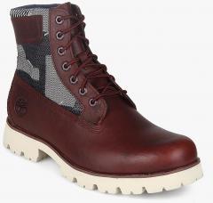 klasyczne style dobrze out x sprawdzić Timberland Maroon Boots men