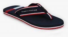 165c5a712e6b Tommy Hilfiger Navy Blue Thong Flip Flops for Men online in India at ...
