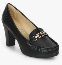 b3edaaaa7a9 Van Heusen Black Sandals for women - Get stylish shoes for Every Women  Online in India 2019