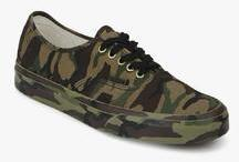 Vans Authentic Olive Sneakers for Men online in India at Best price ... 69f6c1a0f