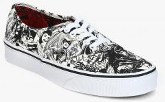 104b38ac73 Vans Authentic X Marvel Black Casual Sneakers for women - Get ...