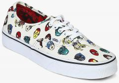 c48cc137ce Vans Authentic X Marvel Cream Sneakers for women - Get stylish shoes ...