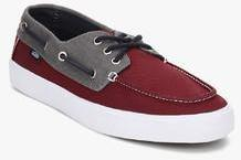Vans Chauffeur Sf Maroon Boat Shoes for Men online in India at Best ... e7aac5e20