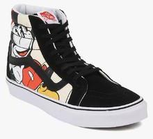 fe9c16bfa68b1 Vans Sk8 Hi Reissue Black Sneakers for women - Get stylish shoes for Every  Women Online in India 2019 | PriceHunt