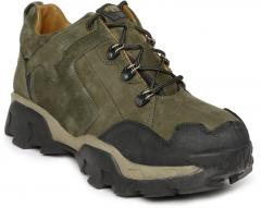 Woodland Proplanet Olive Green Leather