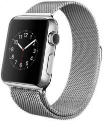 Apple Watch 38 mm Stainless Steel Case with Milanese Loop Smartwatch