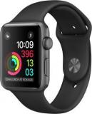 Apple Watch Series 1 42 Mm Space Gray Aluminium Case With Black Sport Band