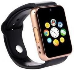 837ab647522 Piqancy 4G Compatible Bluetooth A1 Gold Wrist Watch Phone with Camera   SIM  Card Support Smartwatch Black Smartwatch price in India May 2019 Specs