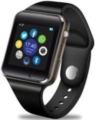 Time Up Bluetooth, SIM, Camera Android Smartwatch Black Smartwatch