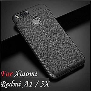 Go Hooked TPU Flexible Auto Focus Shock Proof Back Cover For Mi A1