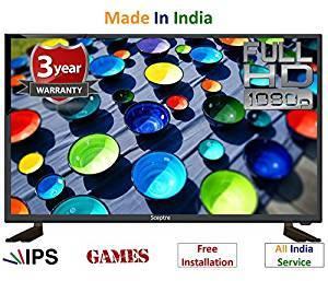 Sceptre 32 inch (80 cm), , Inbuilt Games wD32ZEFHDIPS Ips Full HD LED TV