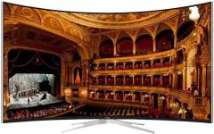 VU TL55C1CUS 139.7 cm Smart Ultra HD Curved LED Television