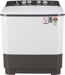 Lg 9 kg P9040RGAZ Semi Automatic Top Load (5 Star Rating Grey, White)