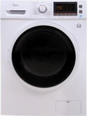 Midea MWMFL085COM Fully Automatic Front Load Washer with Dryer (8.5 with In built Heater White)