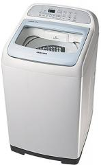 Samsung 6.2 Kg WA62H4200HB/TL Top Load Fully Automatic Washing Machine Light Grey Body and Sparkling Blue Lid